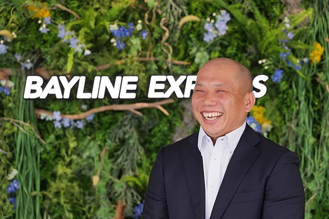 ベイラインエクスプレス株式会社 代表取締役社長 森川 孝司